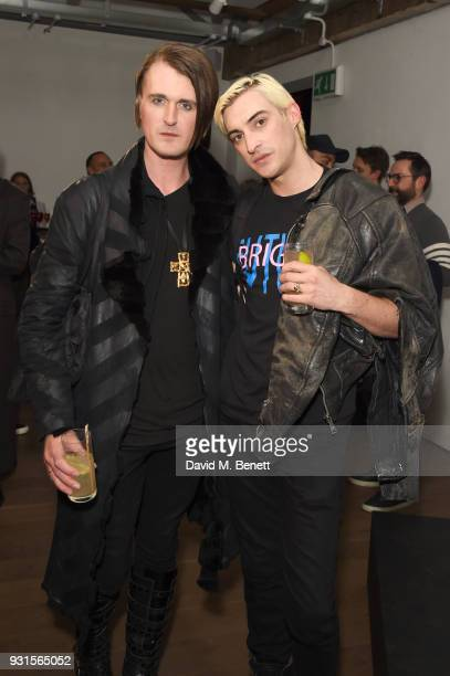 Gareth Pugh and Carson McColl attend Thom Browne In Conversation with Sarabande The Lee Alexander McQueen Foundation on March 13 2018 in London...