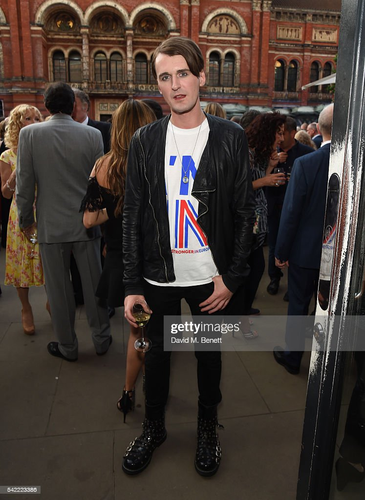 Gareth Pugh attends the 2016 V&A Summer Party In Partnership with Harrods at The V&A on June 22, 2016 in London, England.