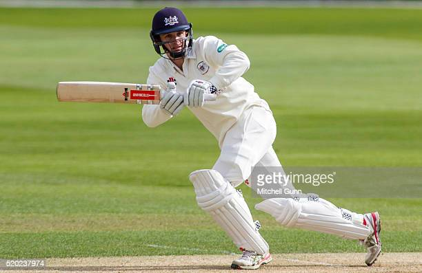 Gareth Roderick of Gloucestershire batting during the Specsavers County Championship match between Essex and Gloucestershire at the County Ground on...