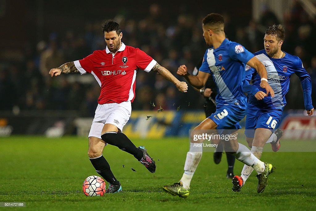 Hartlepool United v Salford City - The Emirates FA Cup Second Round Replay : News Photo