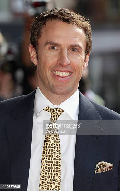 Gareth Southgate arrives for The Prince's Trust Celebrate Success Awards at Odeon Leicester Square on March 23 2011 in London England