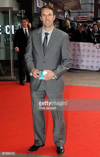 Gareth Southgate arrives for the Prince's Trust Celebrate Success Award at Odeon Leicester Square on March 1 2010 in London England