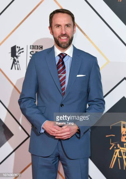 Gareth Southgate attends the 2018 BBC Sports Personality Of The Year at The Vox Conference Centre on December 15 2018 in Birmingham England