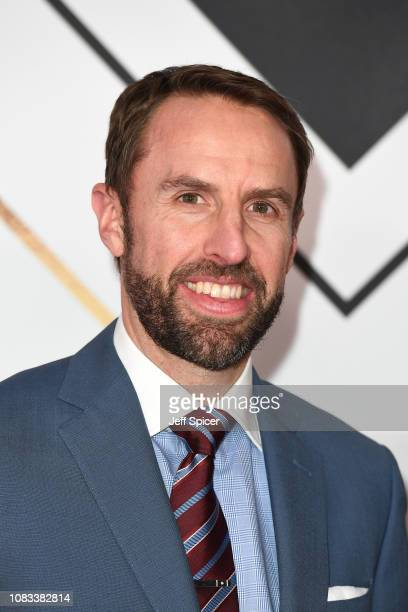 Gareth Southgate attends the 2018 BBC Sports Personality Of The Year at The Vox Conference Centre on December 16 2018 in Birmingham England
