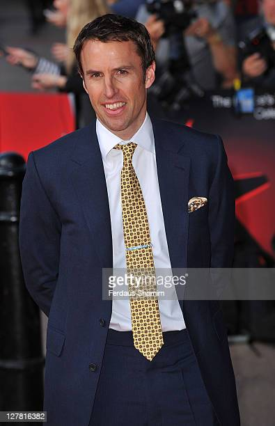 Gareth Southgate attends UK finals of 'Celebrate Success' at Odeon Leicester Square on March 23 2011 in London England