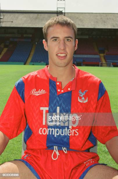 Gareth Southgate, footballer for Crystal Palace FC. Gareth Southgate joined Crystal Palace FC as a youth team player in 1988. In the 1993/4 season he...