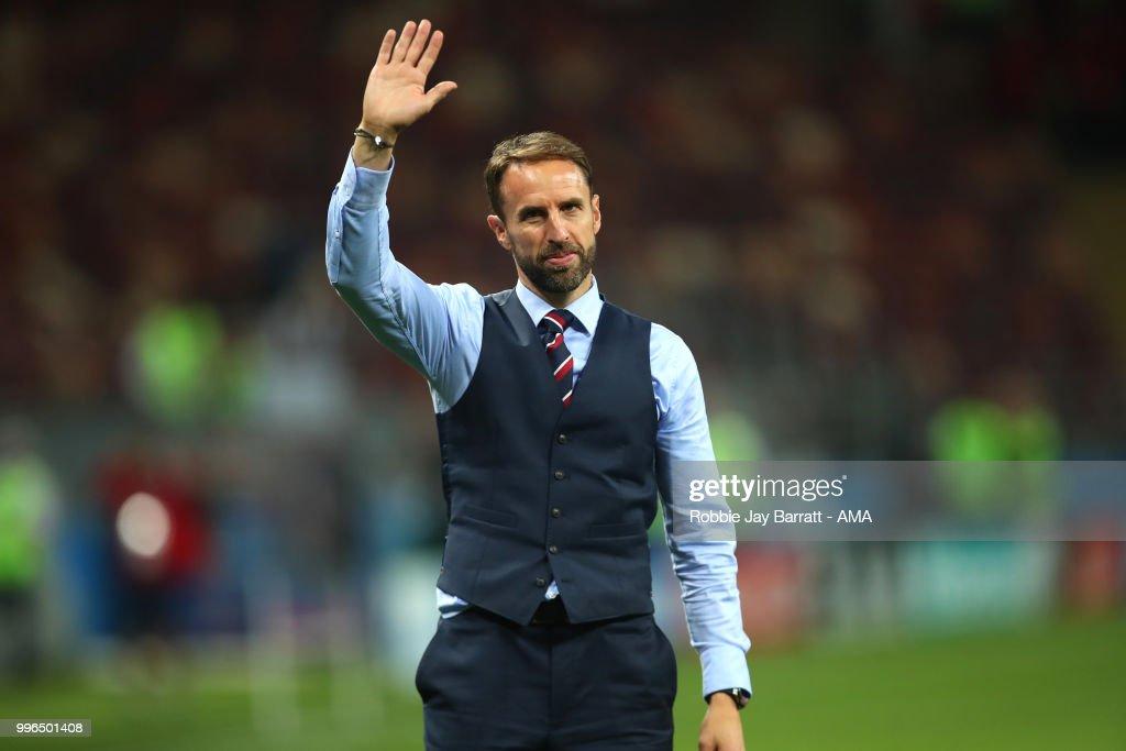 Croatia v England: Semi Final - 2018 FIFA World Cup Russia : News Photo