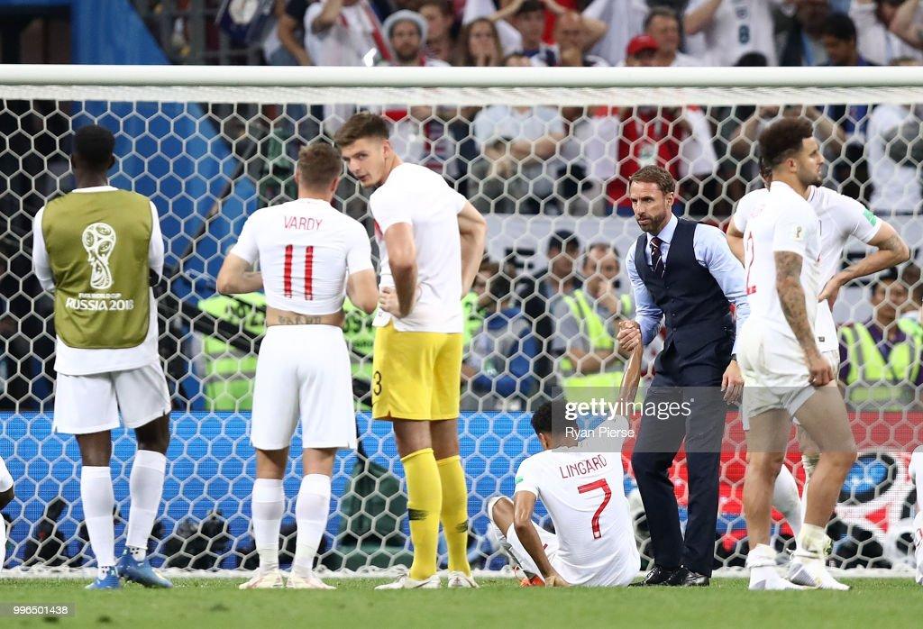 England V Croatia Semi Final 2018 Fifa World Cup Russia News Photo
