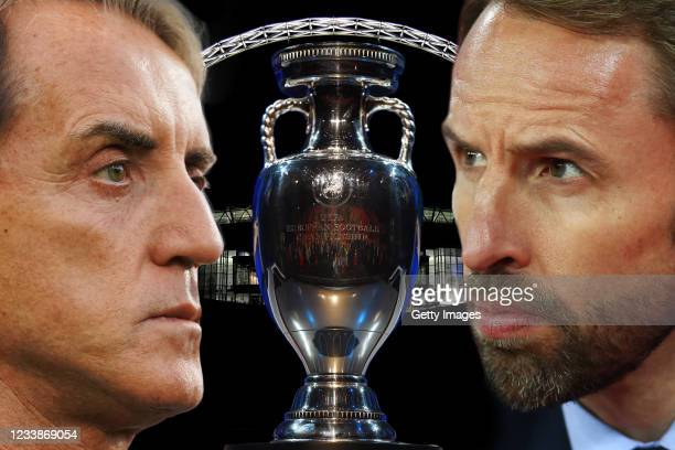 Gareth Southgate manager of England looks on prior to the 2020 UEFA European Championships Group A qualifying match between England and Czech...