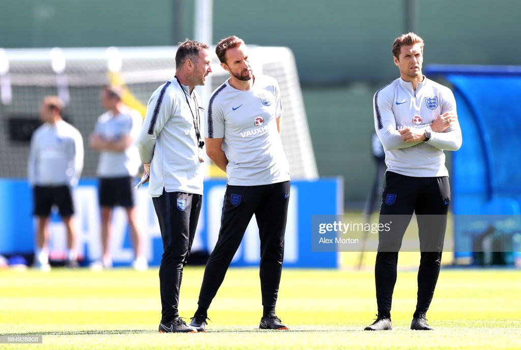 England Media Access - 2018 FIFA World Cup Russia : News Photo