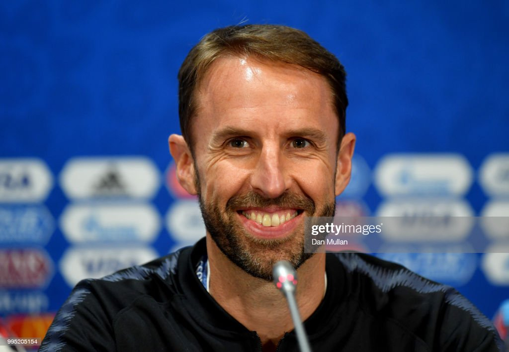 England Press Conference - 2018 FIFA World Cup Russia
