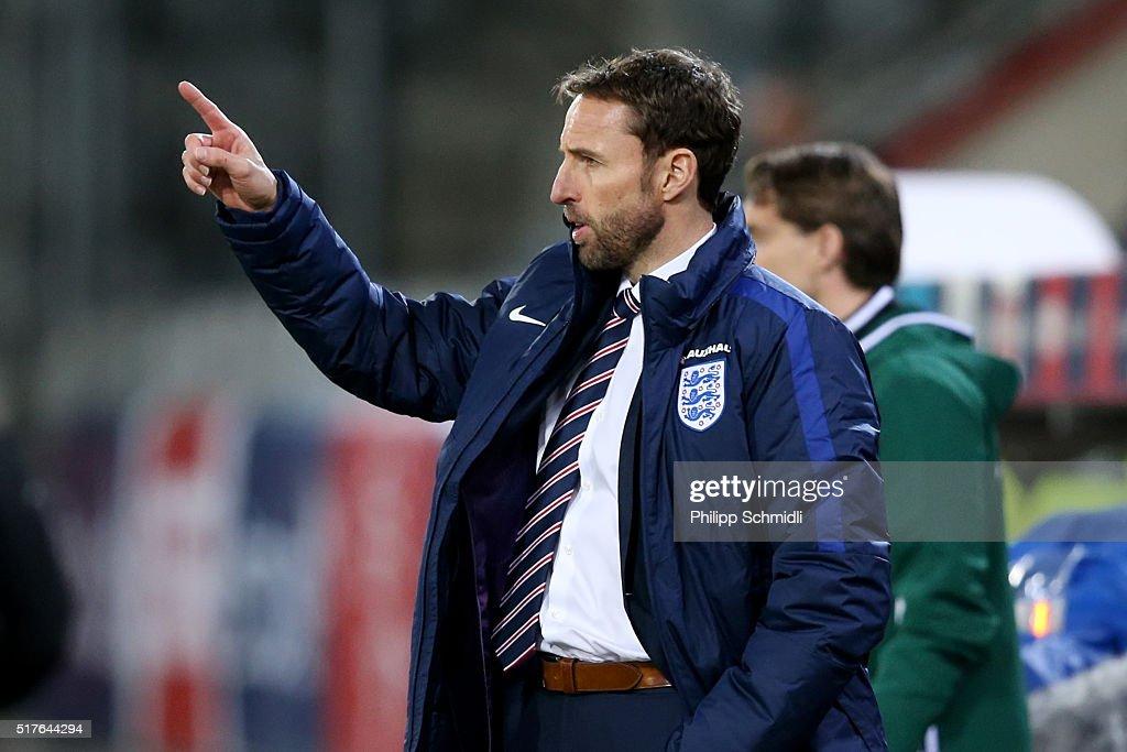 Switzerland U21 v England U21 - European Under 21 Qualifier : News Photo