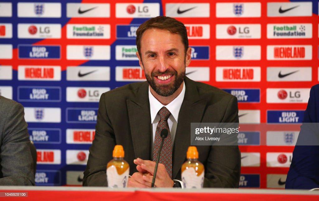 England Squad Announcement : News Photo