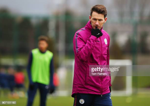 Gareth Taylor at Manchester City Football Academy on January 18 2018 in Manchester England