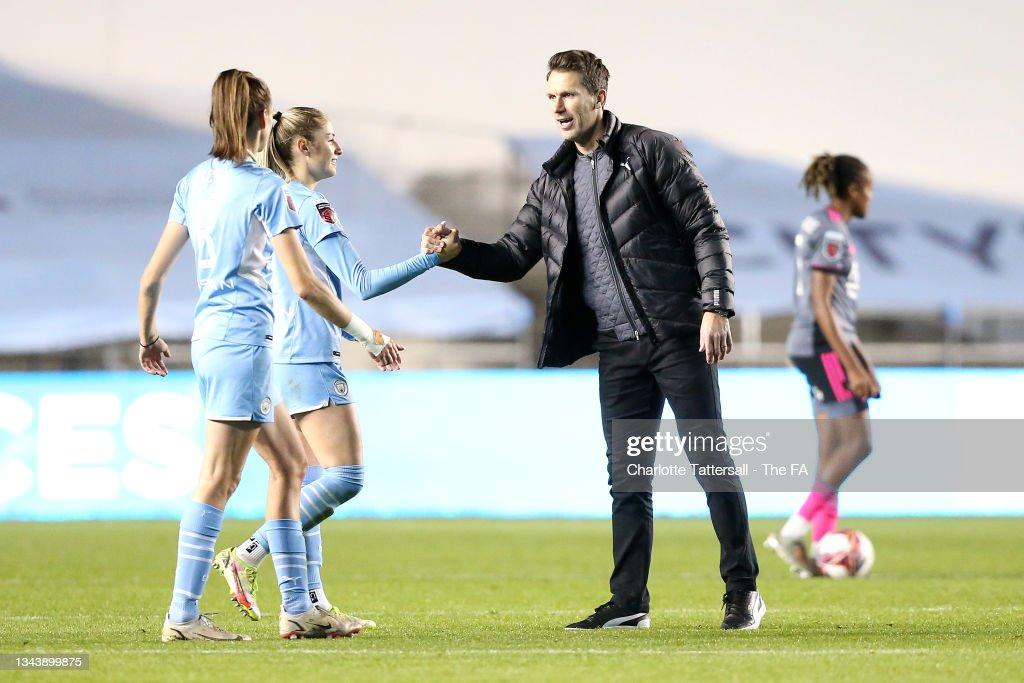 Manchester City Women v Leicester City Women: Vitality Women's FA Cup Quarter Final : News Photo