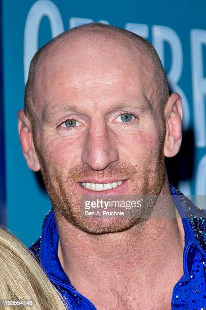 Gareth Thomas attends a photocall to announce the tour of Celebrities On Ice at The Ice Bar on March 12 2013 in London England