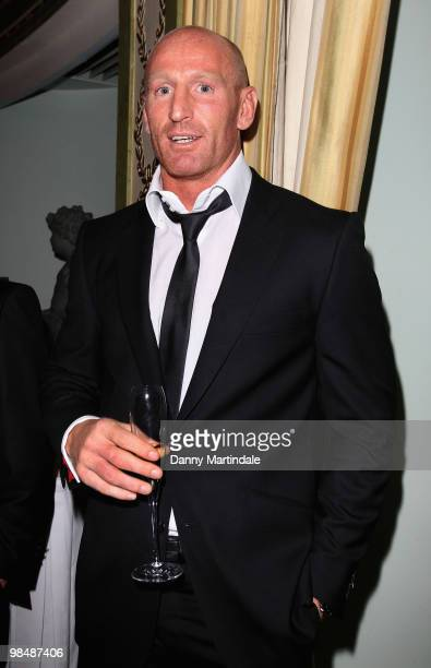 Gareth Thomas attends the Stonewall Equality Dinner at The Dorchester on April 15 2010 in London England
