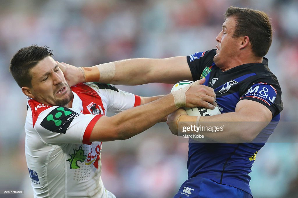 NRL Rd 14 - Dragons v Bulldogs
