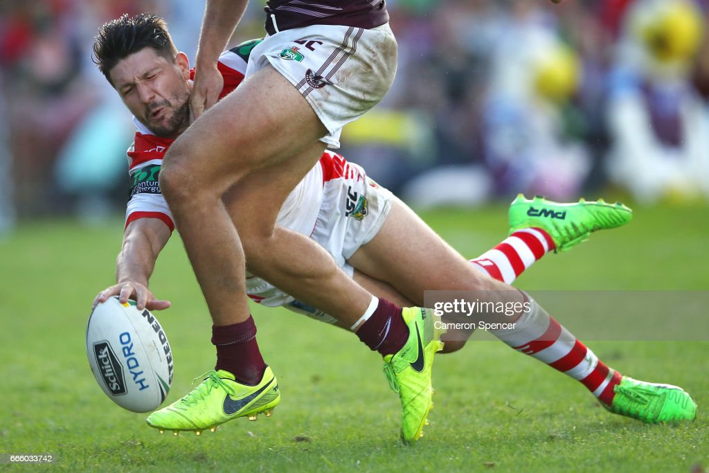 NRL Rd 6 - Sea Eagles v Dragons