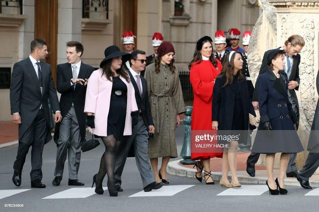 MONACO-ROYALS-NATIONAL-DAY : News Photo