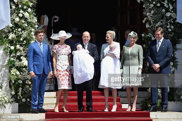 Gareth Wittstock Nerine Pienaar Prince Albert II of Monaco Princess Gabriella of Monaco Princess Charlene of Monaco Prince Jacques of Monaco Diane de...