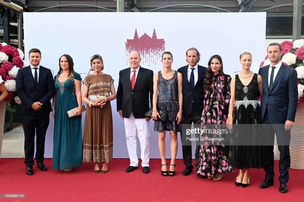 Red Cross Summer Concert In Monaco : News Photo