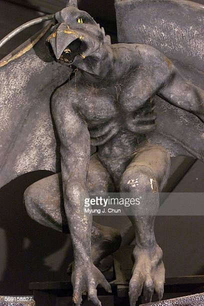 A gargoyle awaits visitors to FrightFair at 8900 DeSoto Avenue in Chatsworth The shows will run October 6 8 14 18 20 22 25 27 29 30 and 31 Hours are...
