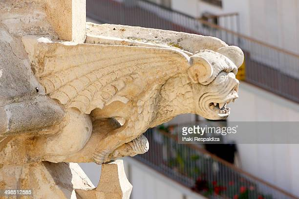 gargoyle - iñaki respaldiza stock pictures, royalty-free photos & images