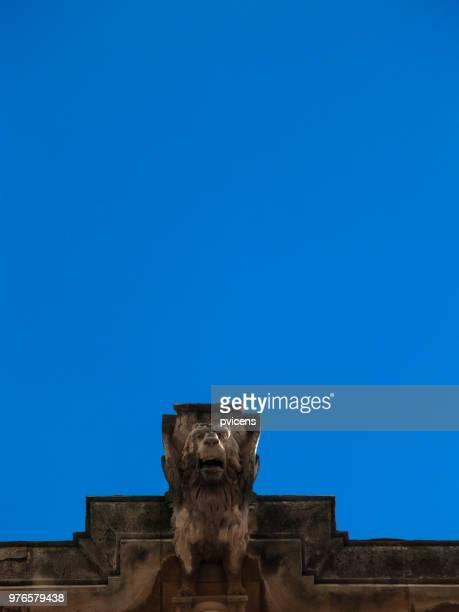 gargoyle - alcala de henares stock pictures, royalty-free photos & images