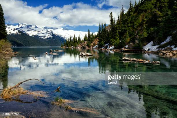 garibaldi lake in summer, bc, canada - garibaldi park stock pictures, royalty-free photos & images