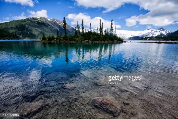Garibaldi Lake in summer, BC, Canada
