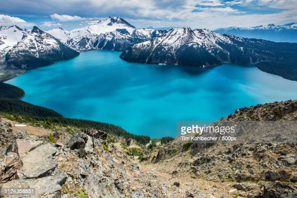 garibaldi lake - garibaldi park stock pictures, royalty-free photos & images