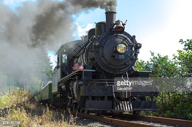 Garibaldi Oregon OCSR Steam Locomotive McCloud Railway No. 25