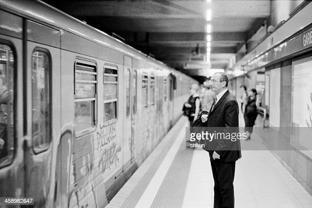 garibaldi station - lombardy stock pictures, royalty-free photos & images