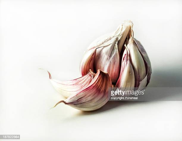 garlic bulb - garlic stock pictures, royalty-free photos & images