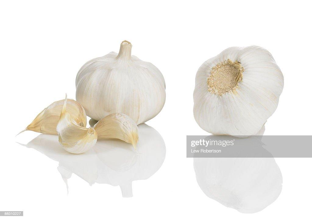 Garlic bulbs : Stock Photo