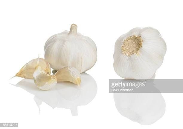 garlic bulbs - garlic stock pictures, royalty-free photos & images