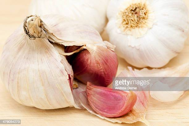 garlic clove - andrew dernie stock pictures, royalty-free photos & images