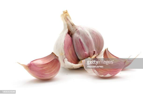 Garlic Cloves and bulb