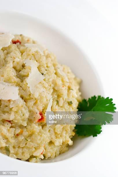 Knoblauch Parmesan-Risotto