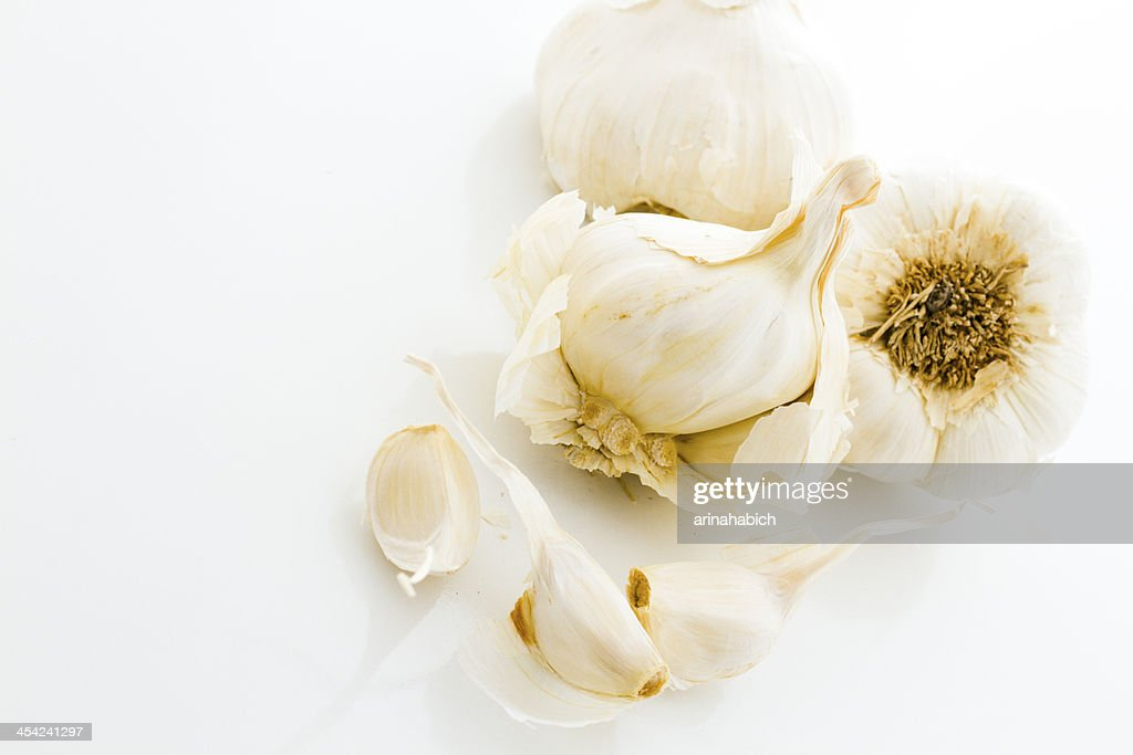 Garlic : Stock Photo