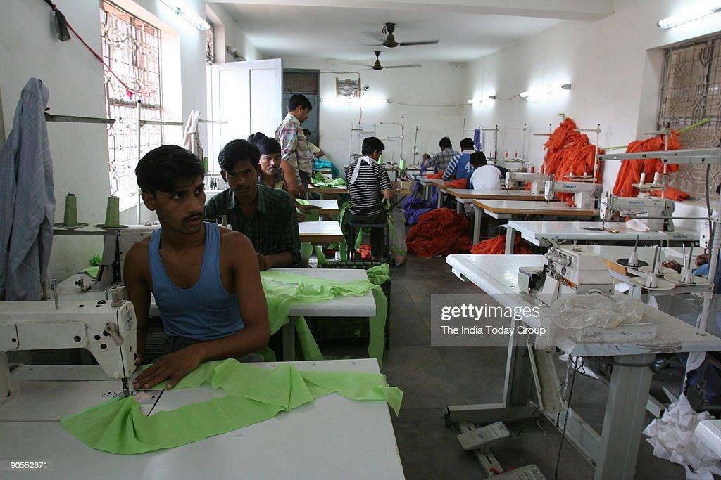 A garment-manufacturing unit is being run at a Mehrauli farmhouse