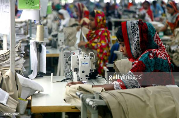 Garments worker working inside a factory in Gazipur in Bangladesh on May 14 2017Bangladesh is the second largest apparel exporter in the world after...