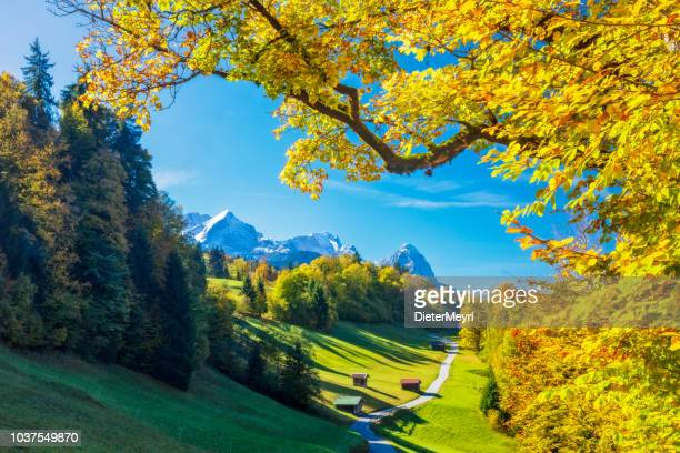Garmisch Partenkirchen in autumn - Wamberg