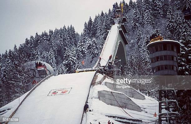GARMISCH PARTENKIRCHEN GERMANY JANUARY 01 VIERSCHANZENTOURNEE 99/00 GarmischPartenkirchen SCHANZENUEBERSICHT