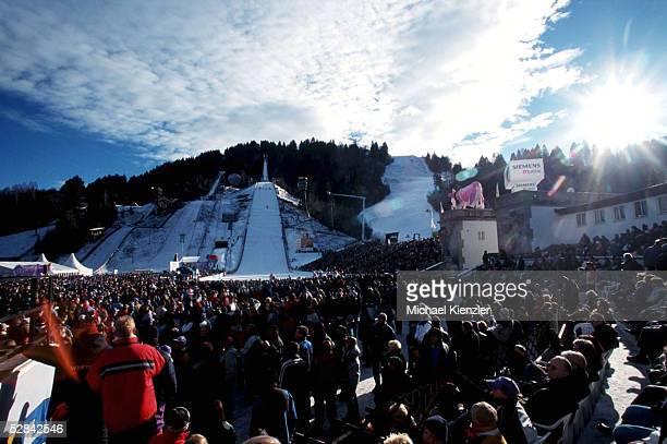 GARMISCH PARTENKIRCHEN GERMANY JANUARY 01 VIERSCHANZENTOURNEE 00/01 GarmischPartenkirchen SPEZIAL UEBERSICHT