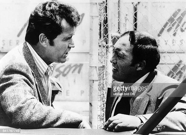 Garner James *Schauspieler USAin der Fernsehsendung 'Detektiv RockfordAnruf genügt' mit Joe Santos als SergeantBecker oJ