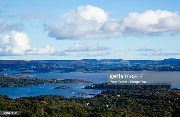 Garnish Island and harbour