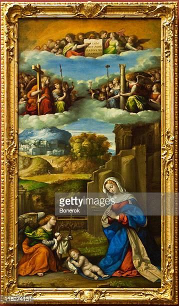 garofalo - renaissance stock pictures, royalty-free photos & images
