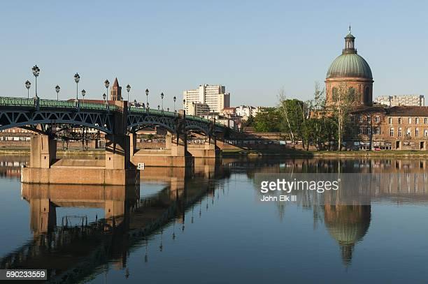 Garonne River with Saint Cyprien